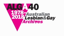 Australian Lesbian and Gay Archives Logo