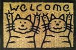 Image of welcome doormat by Claudio Matsuoka