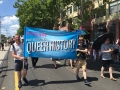ALGA marching at Pride 2018